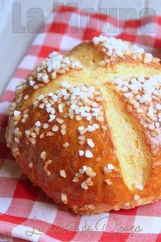 The traditional recipe Mouna of Algeria Shrimp Recipes, Salmon Recipes, Turkey Recipes, Vegetarian Recipes, Snack Recipes, Cooking Fails, Cooking Chef, Croissants, Baguette