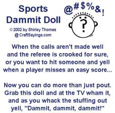 Free Printable Dammit Doll Pattern Dammitdoll Try With