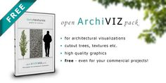 """""""Open ArchiVIZ Pack"""" – Free Download Graphic Collection for 3D Architectural Visualization » tonytextures.com"""