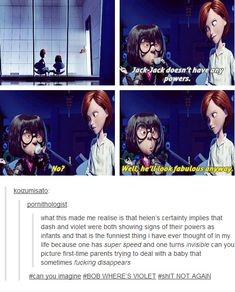 6 Incredible Times The Incredibles Spoke to Tumblr Users — moviepilot.com