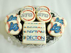 Corporate Logo Cookies by Kelley Hart Custom Cookies