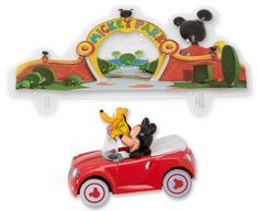 Mickey Mouse and Pluto Car DecoSet Cake Decoration * Additional details at the pin image, click it @ : baking decorations