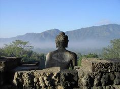 Templo de Borobudur, en Java