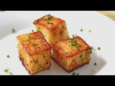 Recette de pavés de pommes de terre, facile et délicieuse - YouTube
