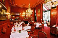 "Hotel Sacher: Vienna, Austria. Winner of Fodor's Travel Hotel Awards for ""Global Icon"""