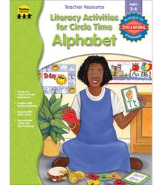 Literacy Activities for Circle Time: Alphabet Resource Book - Carson Dellosa Publishing Education Supplies-#CDWishList