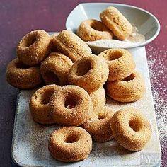 Mini Cinnamon-Sugar Doughnuts