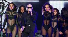 Pitbull Staples Center, Los Angeles, Calif.  October 11, 2014 (Jen Lowery Photography)