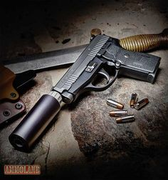 SIG Sauer P239 Tactical Pistol in 9mm with the Piston Silencer