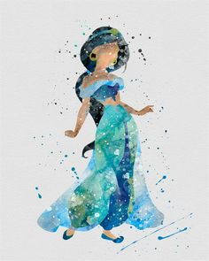 Character Inspired Watercolor Prints | Quick Ship!