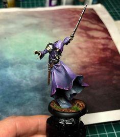 Mierce Miniatures model - Very nicely painted by Robert Carlsson