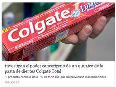 Investigan el poder cancerígeno de un químico de la pasta de dientes Colgate Total