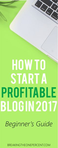 Want to finally start a blog this year? You can make money blogging--it's possible to earn a full time income from it! Truly one of the best ways to make money from home :)