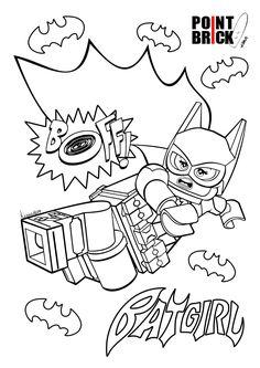 Disegni da Colorare LEGO - The LEGO Batman Movie - Batgirl - Clicca sull'immagine per scaricarla gratuitamente