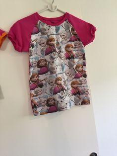 Endnu en t-shirt til en Frozen fan ❄️ pink bagside