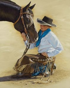 Heart To Heart by Ann Hanson     connection between horse and rider
