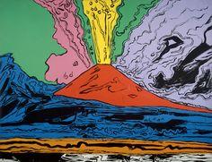 Volcano: Turner to Warhol   Vesuvius by Andy Warhol, 1985. Naples, Museo di Capodimonte. © 2010. Photo Scala, Florence – courtesy of the Ministero Beni e Att. Culturali Public Domain
