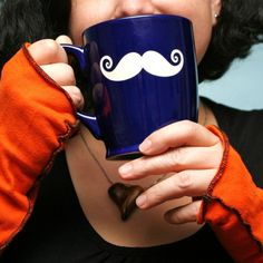 Mustache Mug - Bread and Badger Gifts