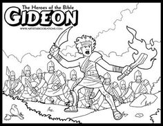 The Heroes Of Bible Coloring Pages Great For Your VBS Sunday School Or Homeschool ActivitiesThese Are Downloadable