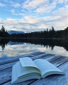 "sweptawaybbooks: ""It's nights like this that I'm going to desperately miss about home . . (at Whistler, Canada) "" Books create a great view."