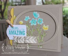 Wickedly Wonderful Creations: Stamp Review Crew - Painted Petals Edition