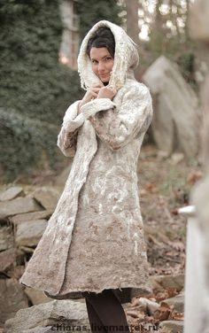 """Верхняя одежда ручной работы. Ярмарка Мастеров - ручная работа. Купить зимнее пальто ручной работы """"Зимняя сказка"""". Handmade."""
