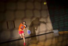 Photos by Aaron Lavinsky • aaron.lavinsky@startribune.com Edina  senior Sonam Palmo practiced her jump smash during practice last week.