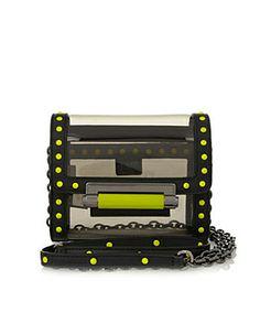 Diane Von Furstenberg Highline Micro Mini PVC Shoulder Bag