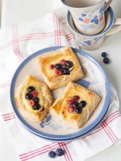 Nopeat ja Helpot Viinerit Cheesecake, Muffin, Pudding, Pie, Breakfast, Desserts, Food, Torte, Morning Coffee
