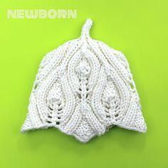 Ravelry: Pixieish pattern by Alexandra Davidoff Baby Hat Knitting Patterns Free, Baby Hats Knitting, Knit Patterns, Free Knitting, Knitted Hats, Crochet Hats, Knitting Ideas, Elvish, Baby Sweaters