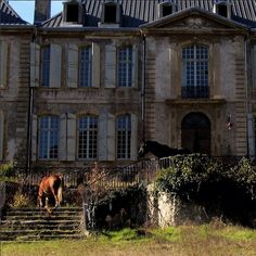 94-Room French Chateau under restoration  www.chateaugudanes.com