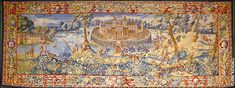 One of the greatest tapestries made in Elizabethan England has been rediscovered in America after it disappeared almost a century ago