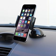 awesome iKross Universal Windshield / Dashboard Car Mount Stand Holder Cradle for iPhone 6 6 Plus / Samsung Galaxy / HTC One / LG / Nokia and Other Smartphone Dashboard Phone Holder, Car Cell Phone Holder, Dashboard Car, Iphone Holder, Magnetic Phone Holder, Phone Stand For Car, Iphone Car Mount, Cell Phone Car Mount, Android Ou Iphone