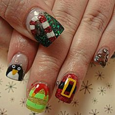 Tis the Season by dcgroves Nail Art Gallery nailartgallery.na by Nails Maga Tis the Season by dcgroves Nail Art Gallery nailartgallery.na by Nails Maga Christmas nails are that necessary component of your good vacation. Christmas Nail Art Designs, Winter Nail Designs, Winter Nail Art, Toe Nail Designs, Nail Polish Designs, Winter Nails, Xmas Nails, Holiday Nails, Christmas Nails