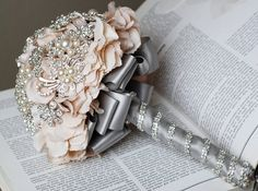 Hydrangea Bouquet with Jewelry