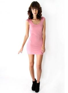 Pink Cutout BodyCon Dress,  Dress, open back  body con  pink  mini, Chic