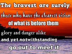 bravery+quotes | Bravery Quotes