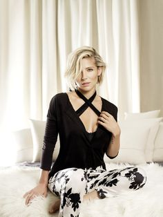 Elsa Pataky luxury pyjamas