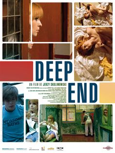 Deep End Jane Asher, John Moulder-Brown & Diana Dors Jane Asher, Classic Tv, Classic Films, Movie Titles, I Movie, Paul Mccartney, Cinema Posters, Movie Posters, Cinema Cinema
