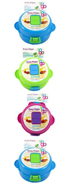 Sistema 9.16-Ounce Easy Eggs To Go, Colors Vary, 1-Pack