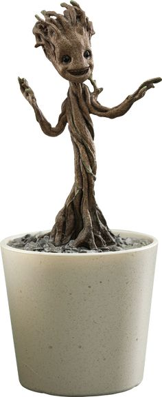 Hot Toys Little Groot Quarter Scale Figure $44.99!!!  Click on the pictures until you get to the Sideshow page to see more pics, details, and to pre-order!