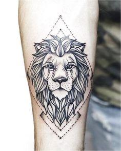 ▷ 1001 + cool lion tattoo ideas for inspiration, . - ▷ 1001 + cool lion tattoo ideas for inspiration, tattoo - Small Lion Tattoo, Lion Head Tattoos, Mens Lion Tattoo, Leo Tattoos, Tattoos For Guys, Lion Tattoos For Men, Tattoo Swag, Tattoo L, Mandala Tattoo