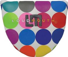 Putter Headcovers by Loudmouth Golf - Disco Balls White.  Buy it @ ReadyGolf.com