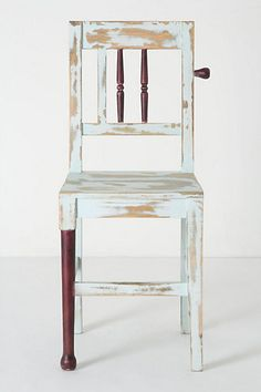 Altered Ego Chair, Spindles