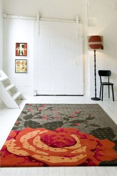 Rough Rose #Rug