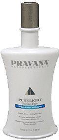 Pravana Pure Light Sulfate-free Brightening Shampoo for Blonde Silver or Highlighted Hair 10.1oz(300ml) by PRAVANA, http://www.amazon.com/dp/B001W2X8AO/ref=cm_sw_r_pi_dp_QMAHpb10Z32EV