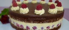 Double Chocolate & Raspberry Torte