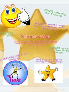 Our school setting value and ways in which children can display positive behaviour