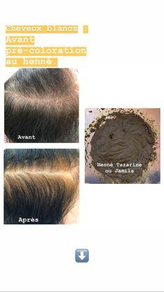 henné cheveux blancs coloration naturelle