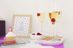 Diamond Excellence Weddings & Other Finer Events | 2014 Valentine's Day Style Shoot in Radiant Orchid & Gold